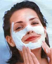 158Маска для лица яйцо мед сухой кожи
